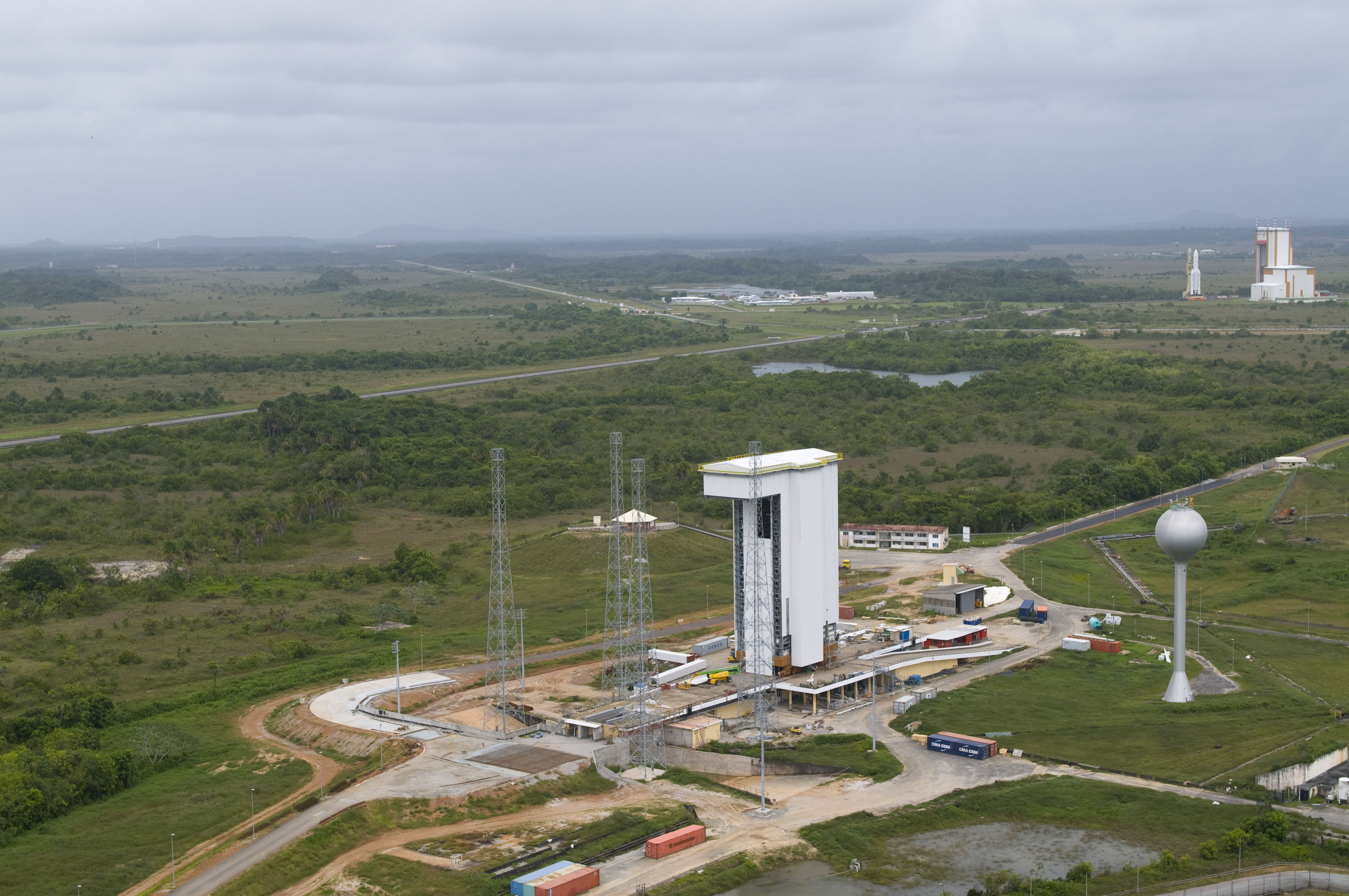 vega launch site kourou