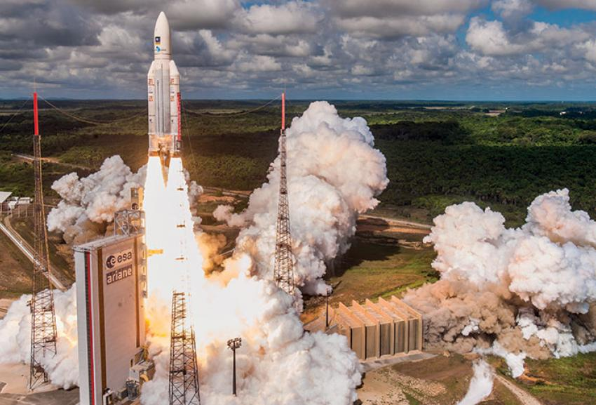 Ariane 5 launch in 2017